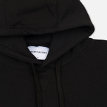 Мужская толстовка MKI Miyuki-Zoku Embroidered Logo Hoody Black фото- 1