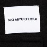 Мужская толстовка MKI Miyuki-Zoku Embroidered Logo Hoody Black фото- 3