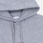 Мужская толстовка MKI Miyuki-Zoku Embroidered Logo Hoody Grey фото- 1
