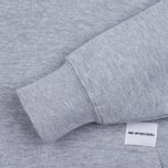 Мужская толстовка MKI Miyuki-Zoku Embroidered Logo Hoody Grey фото- 2
