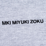 Мужская толстовка MKI Miyuki-Zoku Embroidered Logo Hoody Grey фото- 3