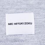 Мужская толстовка MKI Miyuki-Zoku Embroidered Logo Hoody Grey фото- 4