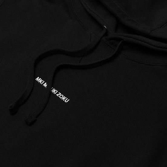 Мужская толстовка MKI Miyuki-Zoku Embroidered Logo Hoody Black