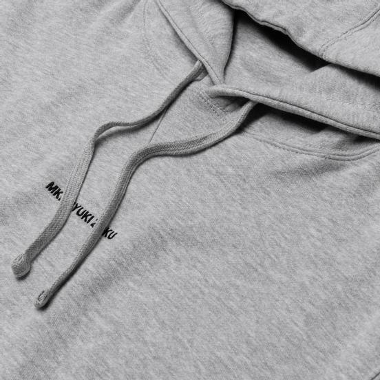 Мужская толстовка MKI Miyuki-Zoku Embroidered Logo Hoody Grey
