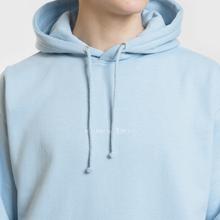 Мужская толстовка MKI Miyuki-Zoku Embroidered Logo Hoody Light Blue фото- 3