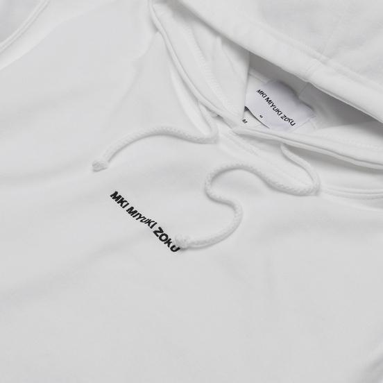 Мужская толстовка MKI Miyuki-Zoku Embroidered Logo Hoody White