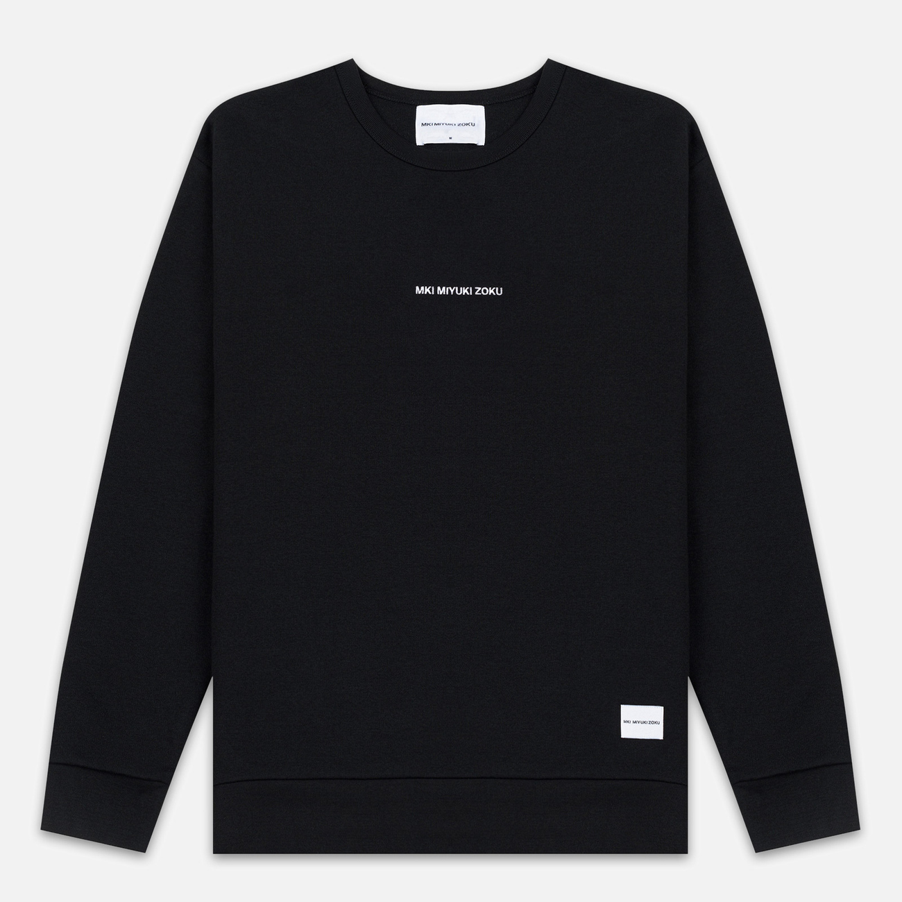 Мужская толстовка MKI Miyuki-Zoku Embroidered Logo Sweat Black