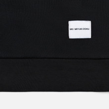 Мужская толстовка MKI Miyuki-Zoku Embroidered Logo Sweat Black фото- 4