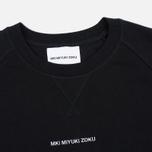 Мужская толстовка MKI Miyuki-Zoku Embroidered Logo Sweat Black фото- 1