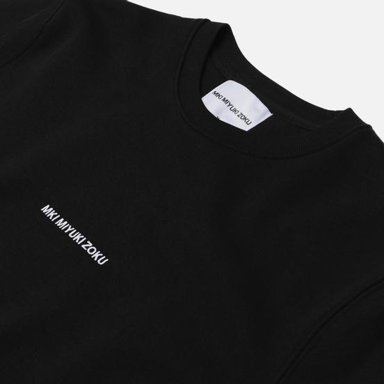 Мужская толстовка MKI Miyuki-Zoku Embroidered Logo Sweat Black