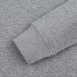 Мужская толстовка MKI Miyuki-Zoku Embroidered Logo Sweat Grey фото- 2