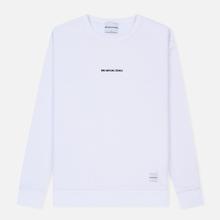 Мужская толстовка MKI Miyuki-Zoku Embroidered Logo Sweat White фото- 0