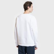 Мужская толстовка MKI Miyuki-Zoku Embroidered Logo Sweat White фото- 2