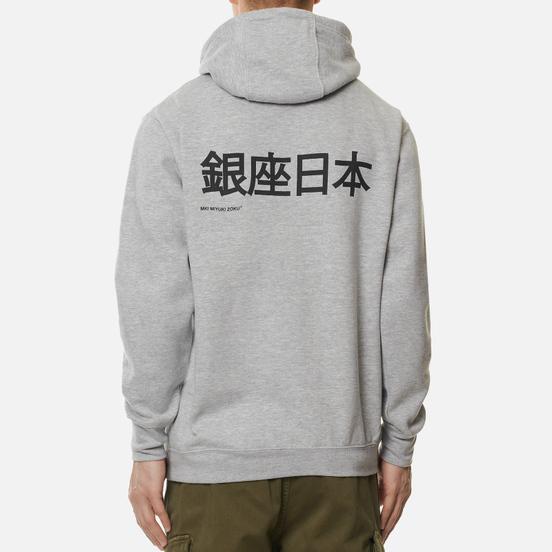 Мужская толстовка MKI Miyuki-Zoku Ginza Hoody Grey