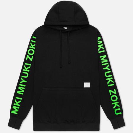 Мужская толстовка MKI Miyuki-Zoku Neon Logo Hoody Black