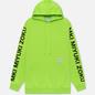 Мужская толстовка MKI Miyuki-Zoku Neon Logo Hoody Flo Green фото - 0