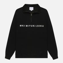 Мужская толстовка MKI Miyuki-Zoku Quarter Zip Sweater Black фото- 0