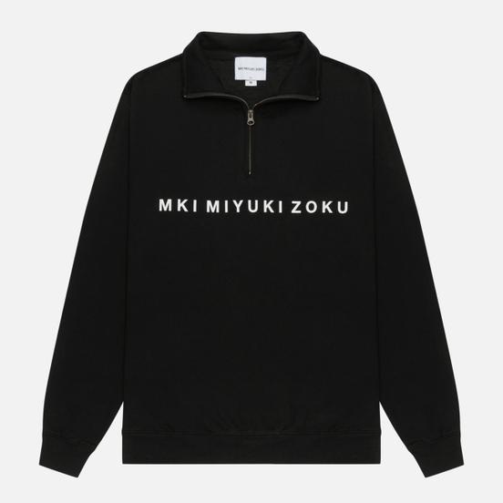 Мужская толстовка MKI Miyuki-Zoku Quarter Zip Sweater Black