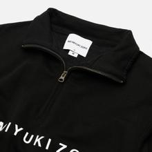 Мужская толстовка MKI Miyuki-Zoku Quarter Zip Sweater Black фото- 1