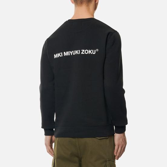 Мужская толстовка MKI Miyuki-Zoku Registered Logo Crew Black