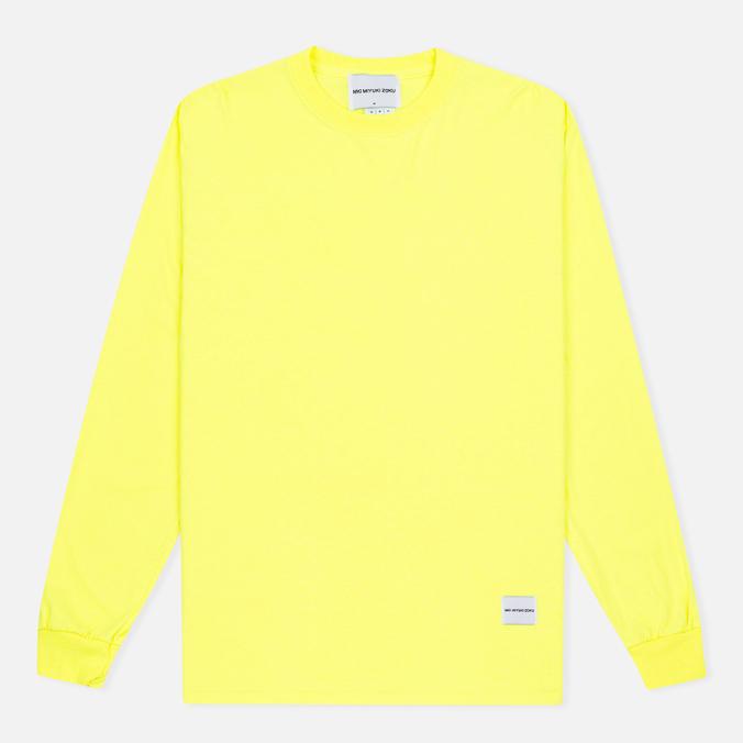 Мужская толстовка MKI Miyuki-Zoku SS 16 Long Sleeve Flo Yellow