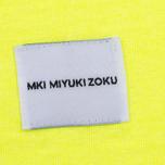 Мужская толстовка MKI Miyuki-Zoku SS 16 Long Sleeve Flo Yellow фото- 4
