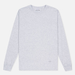 MKI Miyuki-Zoku SS 16 Long Sleeve Men's Sweatshirt Light Grey Marl photo- 0