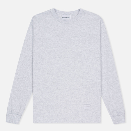 MKI Miyuki-Zoku SS 16 Long Sleeve Men's Sweatshirt Light Grey Marl