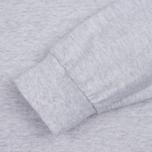 Мужская толстовка MKI Miyuki-Zoku SS 16 Long Sleeve Light Grey Marl фото- 2