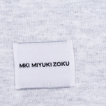 Мужская толстовка MKI Miyuki-Zoku SS 16 Long Sleeve Light Grey Marl фото- 4