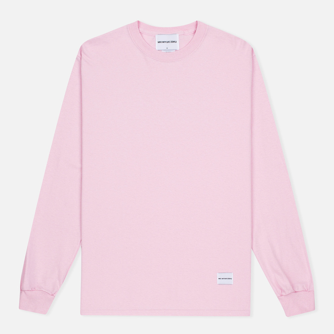 Мужская толстовка MKI Miyuki-Zoku SS 16 Long Sleeve Pink