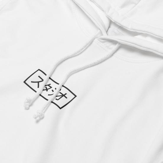 Мужская толстовка MKI Miyuki-Zoku Studio Box Hoody White