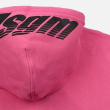 Мужская толстовка MSGM 3D Print Hooded Fuchsia фото- 4