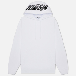 Мужская толстовка MSGM 3D Print Hooded Optical White