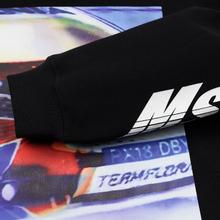 Мужская толстовка MSGM Colorful Logo Print Hoodie Black фото- 3