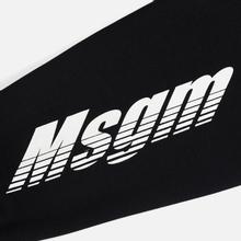 Мужская толстовка MSGM Colorful Logo Print Hoodie Black фото- 4
