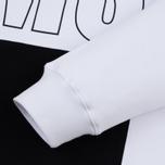 Мужская толстовка MSGM Front Big Logo White фото- 3