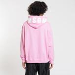 Мужская толстовка MSGM Hooded Logo Pink фото- 2