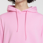 Мужская толстовка MSGM Hooded Logo Pink фото- 3