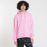 Мужская толстовка MSGM Hooded Logo Pink фото- 1