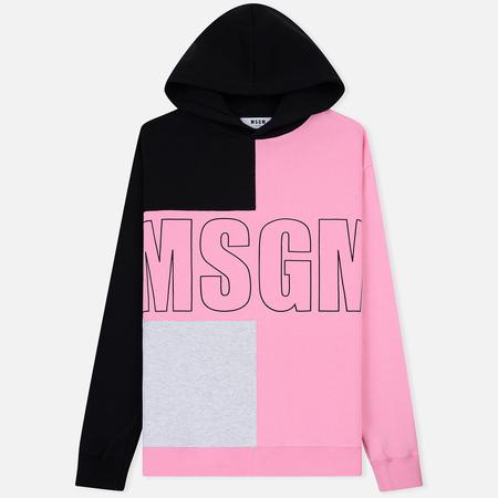 Мужская толстовка MSGM Logo Hoodie MSGM Pink
