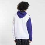 Мужская толстовка MSGM Logo Hoodie Purple/Red/White фото- 2