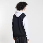 Мужская толстовка MSGM Logo Hoodie White/Grey/Black фото- 2