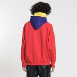 Мужская толстовка MSGM Multicolor Hoodie Red фото- 2