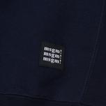 Мужская толстовка MSGM Slogan Crew Neck Blue фото- 4