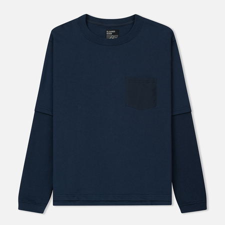 Мужская толстовка Mt. Rainier Design Cotton Pile Layered Top Dark Navy