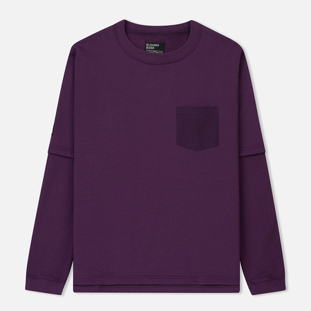 Мужская толстовка Mt. Rainier Design Cotton Pile Layered Top Purple