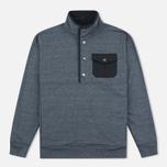 Мужская толстовка Mt. Rainier Design Heather Pocket Pullover Top Black фото- 0