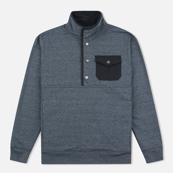 Мужская толстовка Mt. Rainier Design Heather Pocket Pullover Top Black