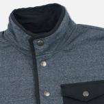 Мужская толстовка Mt. Rainier Design Heather Pocket Pullover Top Black фото- 1
